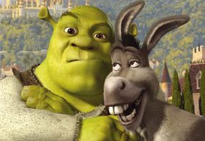 "Shrek and donkey ""Change is good"""